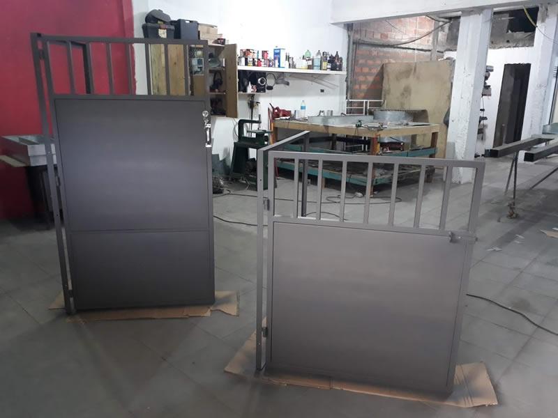 fabricação de portão simples