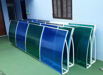 fabricação de toldo em policarbonato
